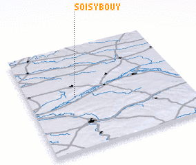 3d view of Soisy-Bouy