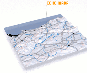 3d view of Ech Chaaba