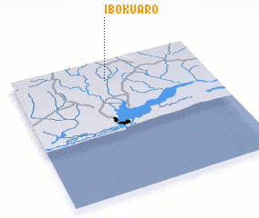 3d view of Iboku Aro
