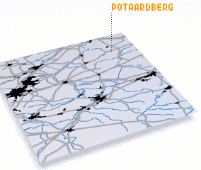 3d view of Potaardberg