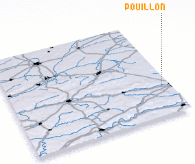 3d view of Pouillon