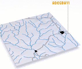 3d view of Adegbayi