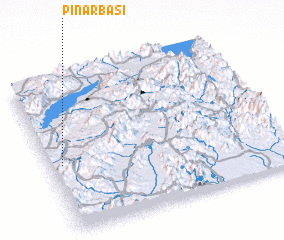 3d view of Pınarbaşı