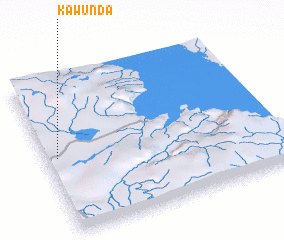 3d view of Kawunda