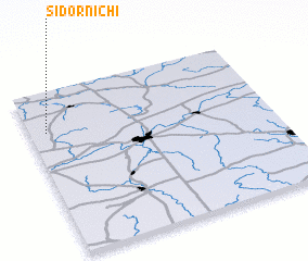 3d view of Sidornichi