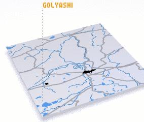 3d view of Golyashi
