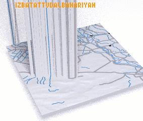 3d view of 'Izbat aţ Ţūd al Baḩarīyah