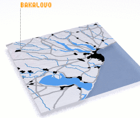 3d view of Bakalovo