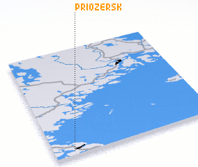 3d view of Priozërsk