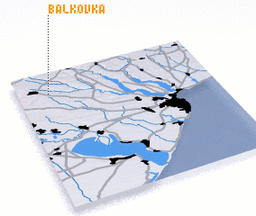 3d view of Balkovka