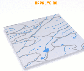3d view of Kapalygino