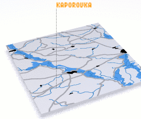 3d view of Kaporovka