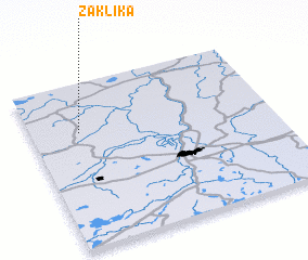 3d view of Zaklika