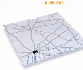 3d view of Kurdufān