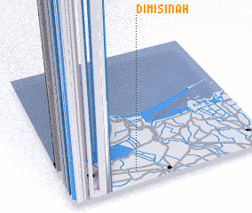 3d view of Dimīsinah