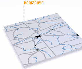 3d view of Ponizov'ye