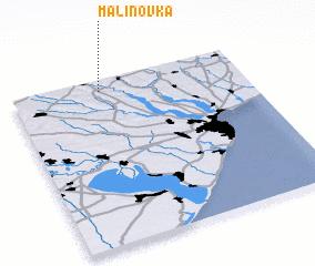 3d view of Malinovka