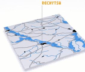 Rechytsa Belarus map nonanet