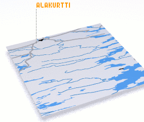 3d view of Alakurtti