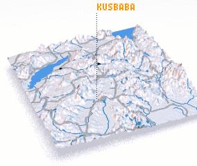3d view of Kuşbaba