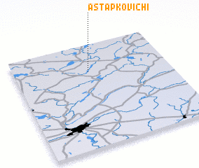 3d view of Astapkovichi