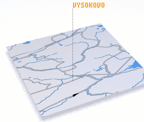 3d view of Vysokovo