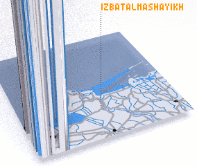 3d view of 'Izbat al Mashāyikh