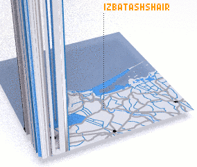 3d view of 'Izbat ash Shā'ir
