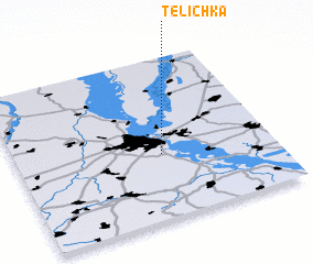 3d view of Telichka