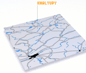 3d view of Khalyupy