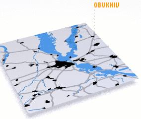 3d view of Obukhiv