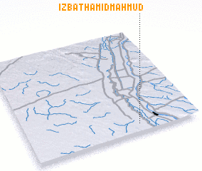 3d view of 'Izbat Ḩāmid Maḩmūd
