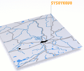 3d view of Sysoykovo