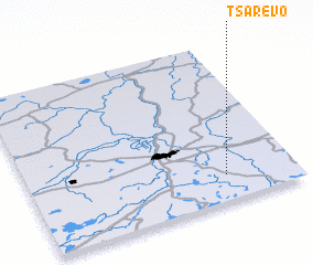 3d view of Tsarëvo