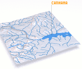 3d view of Canhama
