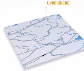 3d view of Lyubishche