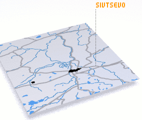 3d view of Sivtsevo