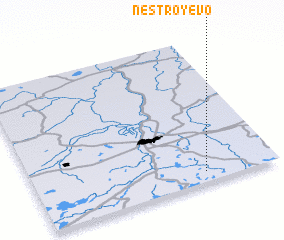 3d view of Nestroyevo