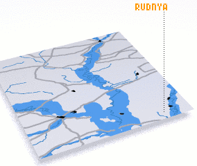 3d view of Rudnya