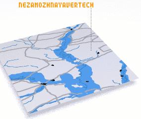 3d view of Nezamozhnaya Vertech