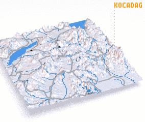 3d view of Kocadağ