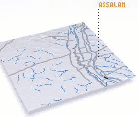 3d view of As Salām