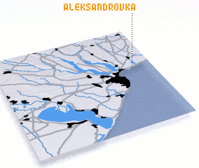 3d view of Aleksandrovka