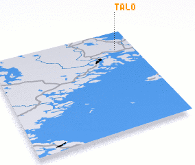 3d view of Talo
