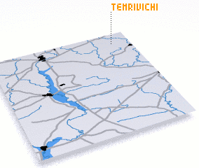 3d view of Temrivichi