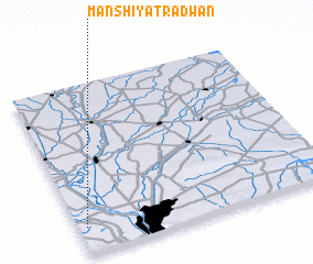 3d view of Manshīyat Raḑwān