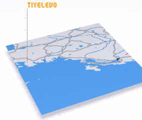3d view of Tiyelevo