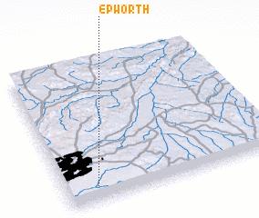 Epworth Zimbabwe map nonanet