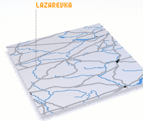 3d view of Lazarevka