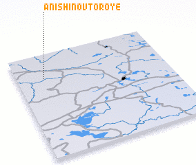 3d view of Anishino Vtoroye